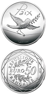 50 euro coin Values of the French Republic - 50€ Autumn / Winter | France 2014