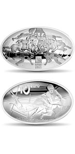 10 euro coin 2015 Rugby World Cup  | France 2015
