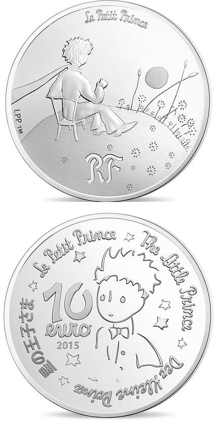 10 euro The Little Prince Essential is invisible  - 2015 - France