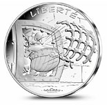 10 euro coin Liberty Obelix | France 2015
