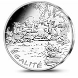 10 euro coin Equality Potion Distribution | France 2015
