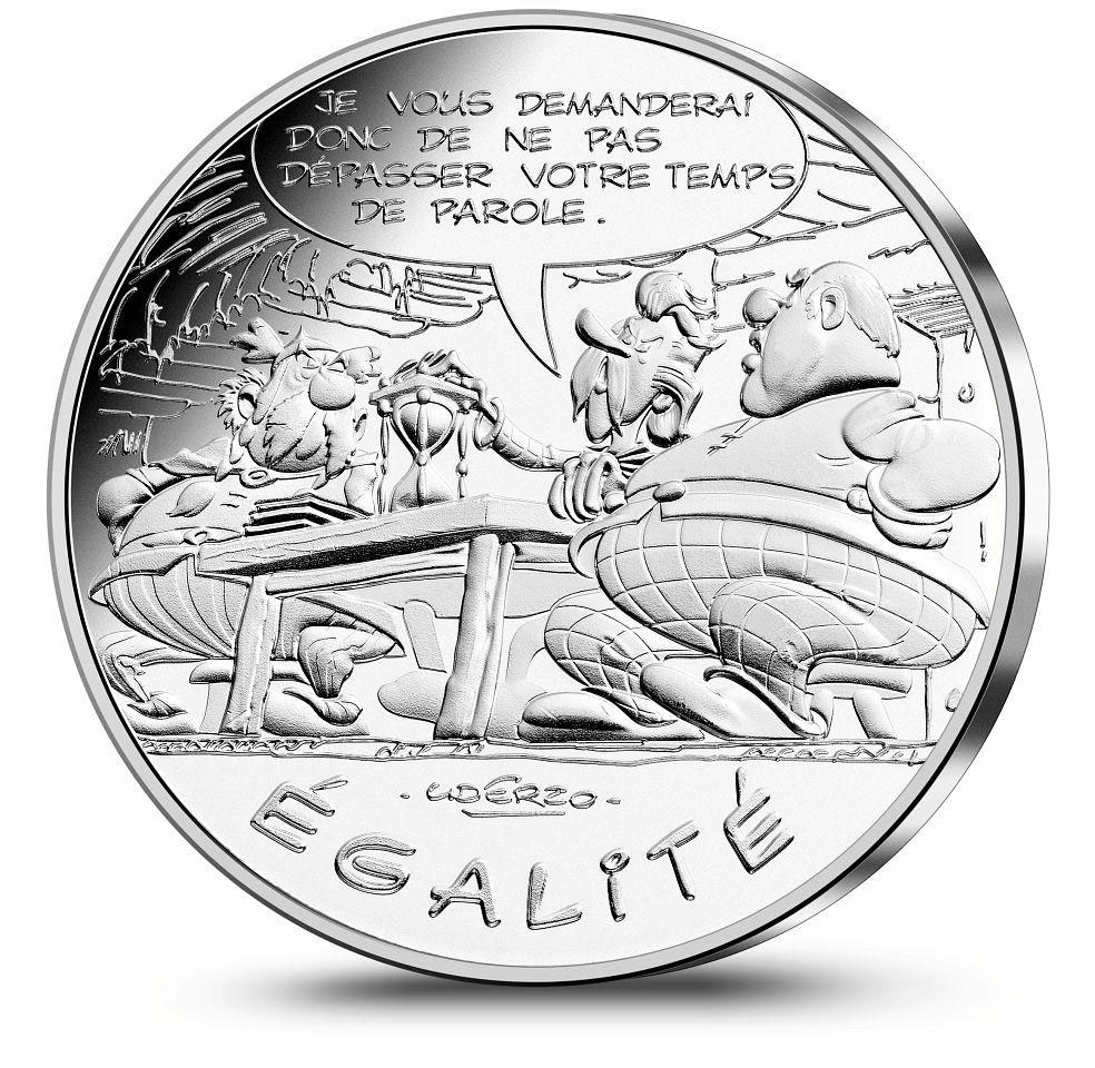 Image of a coin 10 euro | France | Equality Speaking | 2015