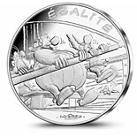 10 euro coin Equality Rowing | France 2015