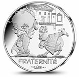 10 euro coin Fraternity Greeks | France 2015