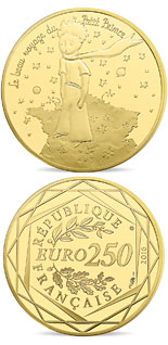 200 euro coin The Little Prince's beautiful journey France  | France 2016