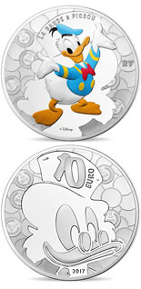 10 euro coin Duck Tales | France 2017
