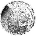 10 euro coin France by Jean Paul Gaultier | France 2017