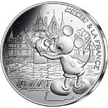 10 euro coin Mickey et la France - A trip to the Loire | France 2018