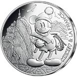 10 euro coin Mickey et la France - First on the rope | France 2018