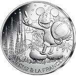 10 euro coin Mickey et la France - Countdown | France 2018
