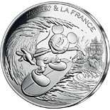 10 euro coin Mickey et la France - New wave | France 2018