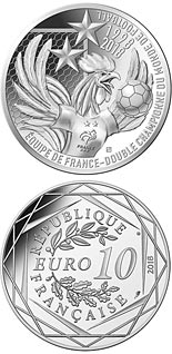 10 euro coin France, World Champions  | France 2018