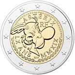 2 euro coin 60 Years of Asterix  | France 2019