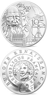 10  coin Renaissance Era Europa | France 2019
