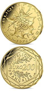 200 euro coin Coin of History - La France | France 2019