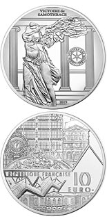 10 euro coin Victory of Samothrace | France 2019