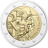 2 euro coin Charles de Gaulle | France 2020