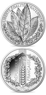 20 euro coin Nature of France: The Laurel | France 2021