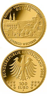 100 euro coin UNESCO Welterbe Goslar  | Germany 2008