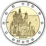 2 euro coin Bavaria  | Germany 2012