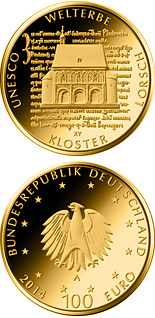 100 euro coin UNESCO Welterbe - Kloster Lorsch | Germany 2014