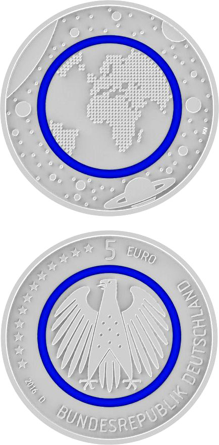 5 euro coins the 5 euro coin series from germany. Black Bedroom Furniture Sets. Home Design Ideas