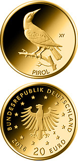 20 euro Pirol  - 2017 - Series: Birds - Germany