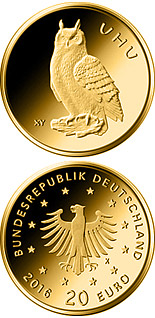 20 euro coin Uhu  | Germany 2018