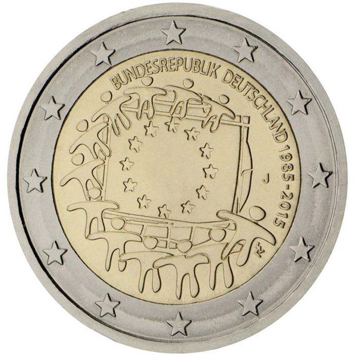 2 euro: The 30th anniversary of the EU flag | Germany