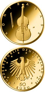 50 euro coin Double bass | Germany 2018