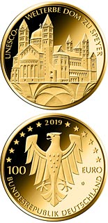 100 euro coin Dom zu Speyer | Germany 2019