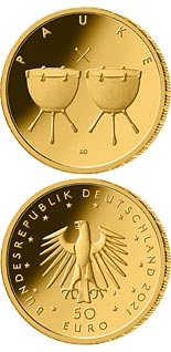 50 euro coin Timpani | Germany 2021