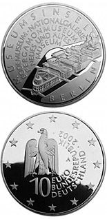 10 euro Museumsinsel Berlin - 2002 - Series: Silver 10 euro coins - Germany