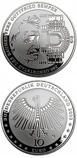 10 euro coin Industrielandschaft Ruhrgebiet | Germany 2003