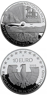 10 euro coin Nationalpark Bayerischer Wald | Germany 2005