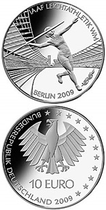 10 euro coin Leichtathletik-WM in Berlin | Germany 2009
