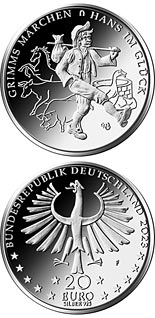 20 euro coin Hans in Luck | Germany 2023