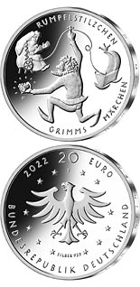 20 euro coin Rumpelstiltskin | Germany 2022