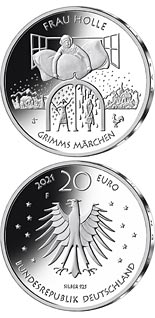 20 euro coin Frau Holle | Germany 2021