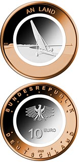 10 euro coin On the Land | Germany 2020