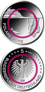 5 euro coin Polar Zone | Germany 2021
