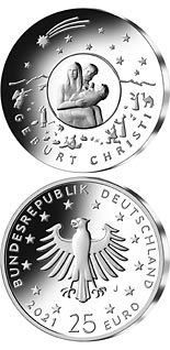 25 euro coin Christmas | Germany 2021