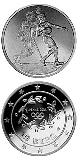 10 euro coin XXVIII. Summer Olympics 2004 in Athens - Handball | Greece 2004