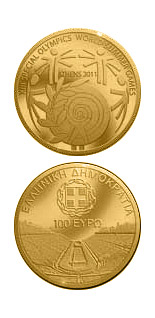 100 euro coin XIII Special Olympics World Summer Games Athens 2011 | Greece 2011