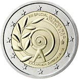 2 euro coin The Special Olympics World Summer Games — Athens 2011  | Greece 2011