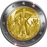 2 euro coin 100th Anniversary of the union of Crete with Greece | Greece 2013
