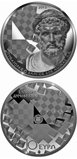 10 euro coin Hellenic Culture & Civilization: Pythagoras of Samos | Greece 2013