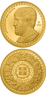 200 euro Aristoteles  - 2014 - Series: Gold euro coins - Greece