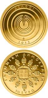50 euro UNESCO World Heritage – Delphi - 2015 - Series: Gold euro coins - Greece