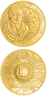 200 euro Greek Culture–Philosophers: Demokritos - 2016 - Series: Gold euro coins - Greece